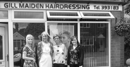 Gill Maiden Hairdressers -Blythe Bridge Hair Salon - Hairdressers Staffordshire